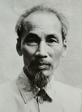 Ho Chi Minh, vlastním jménem Nguyễn Sinh Cung, vietnamská ikona
