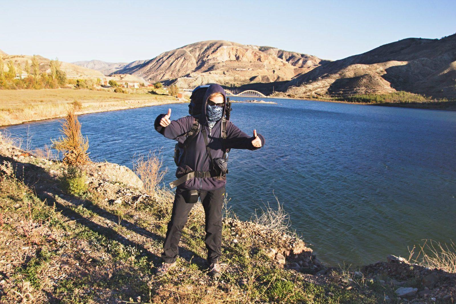 Sluníčko svítí, nicméně hory na východě Turecka jsou v říjnu už mrazivé nejen v noci, ale i přes den