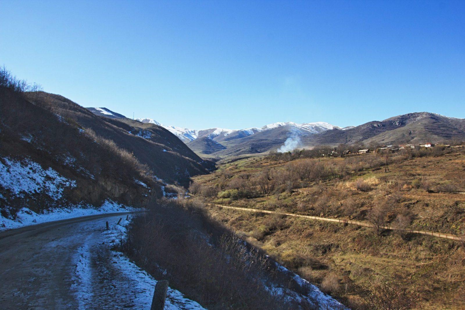 Z počátku cesty jsme hlavně utíkali před přicházející zimou, ale ta nám byla v patách (Arménie)