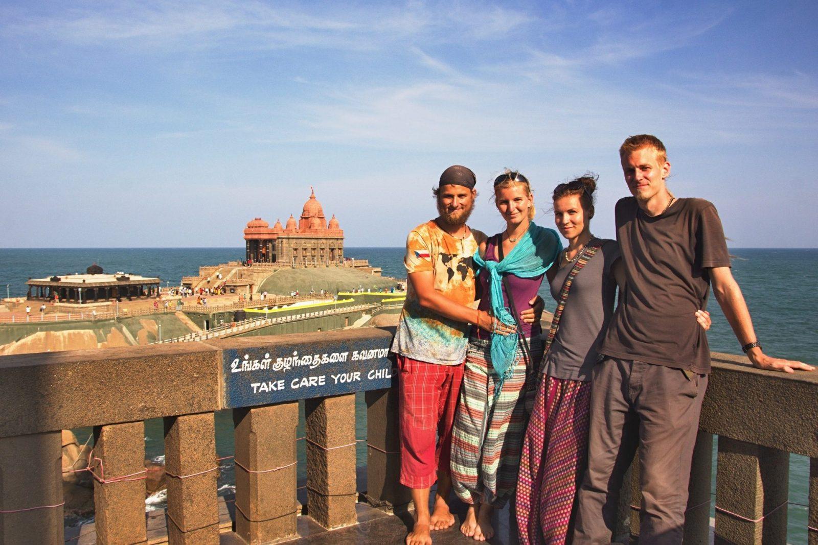 S Petrem a Lenkou jsme čelili nástrahám Indie skoro 14 dní