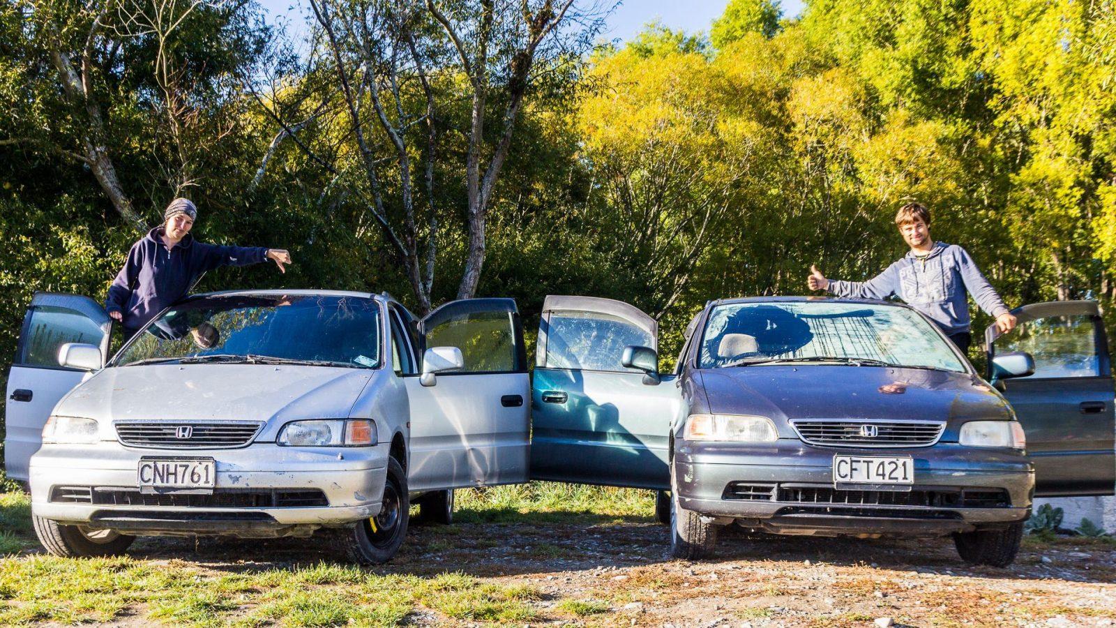 Život v autě je na Zélandu nejlevnější a nejsvobodnější možností