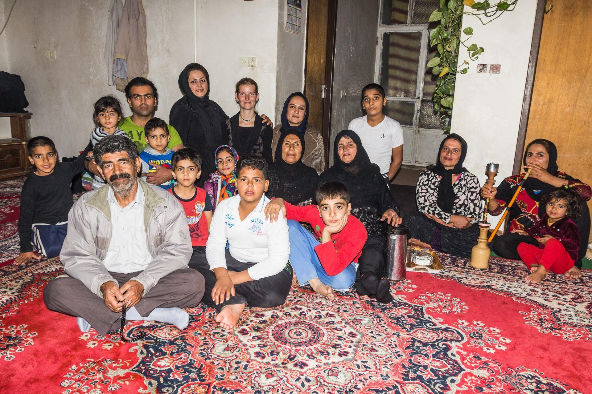 V Íránu prakticky neexistují malé rodiny:-)