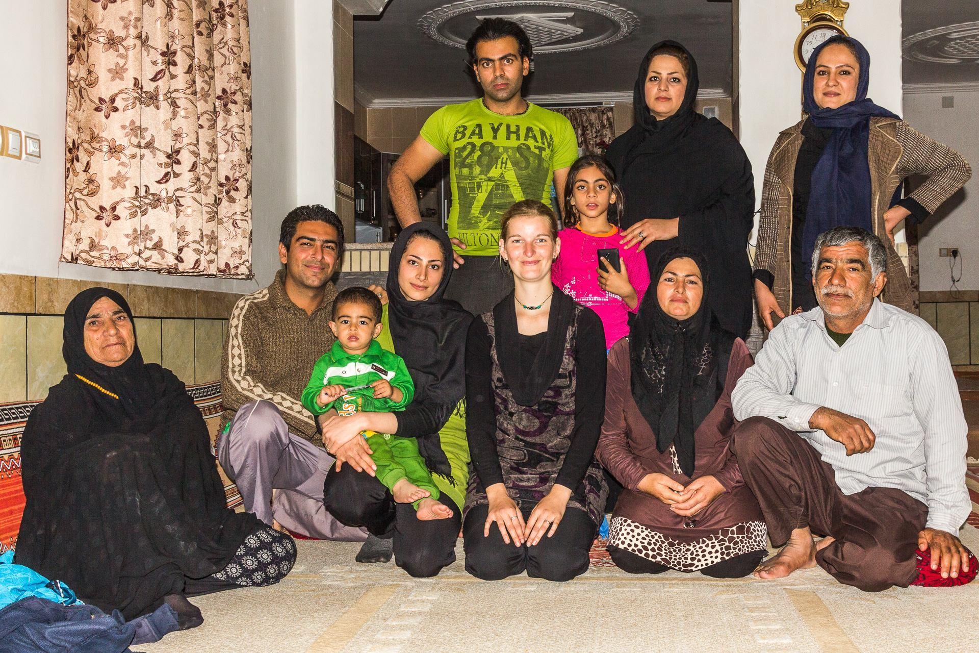 Společné foto s každou rodinou je nutnost