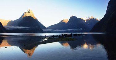Nový Zéland - Millford Sound