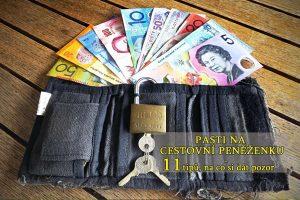 Pasti na cestovní peněženku - 11 tipů, na co si dát pozor
