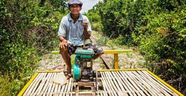 Kambodža 1 - Battambang a důkladný průzkum jeho okolí