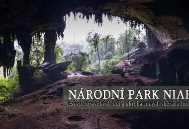 Národní park Niah, jeskyně pravěkých lidí a akrobatických sběračů hnízd