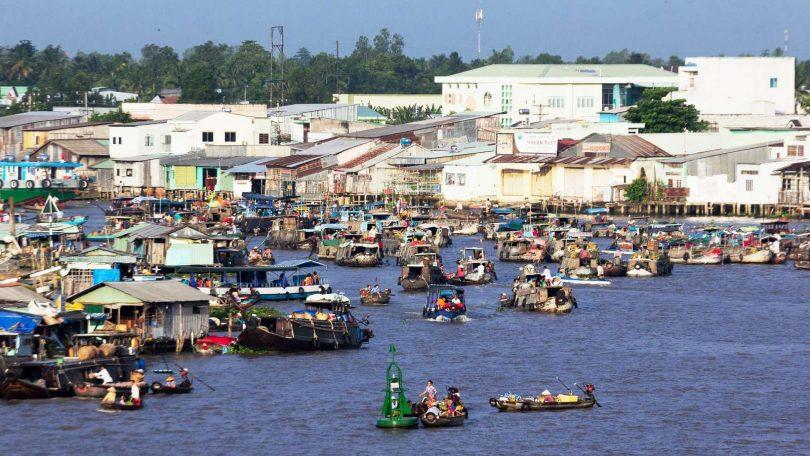 Vietnam 2 - Výjezd na lehko do Can Tho za plovoucím trhem