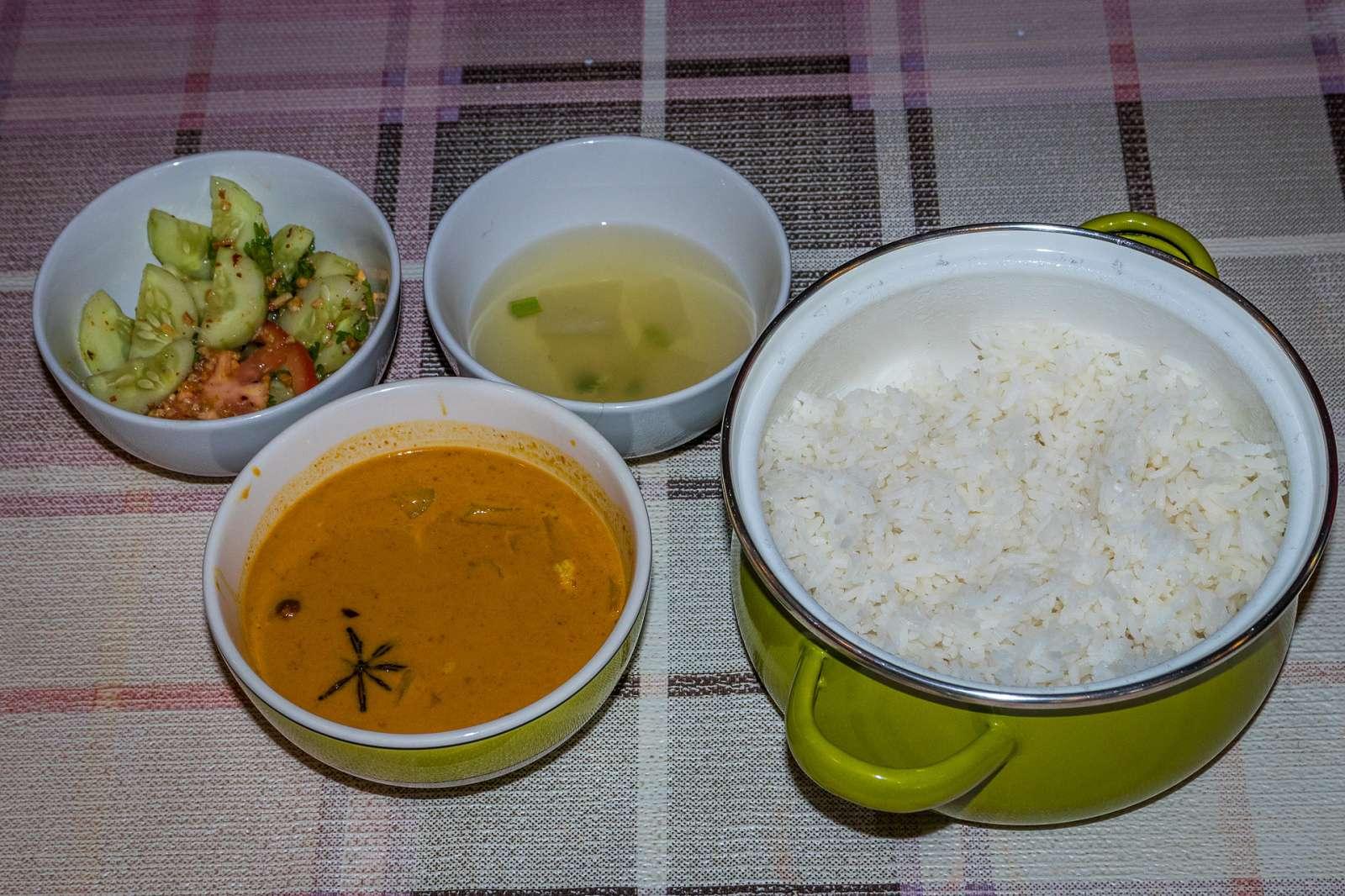 Kurz thajské kuchyně - kompletní oběd