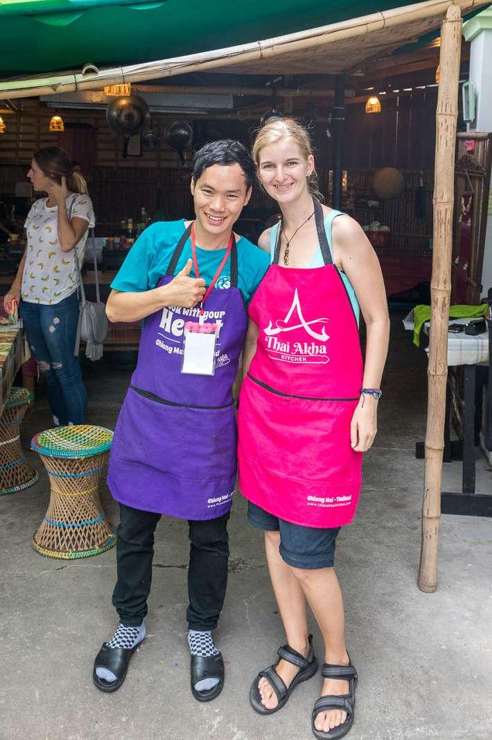 Kurz thajské kuchyně - s panem učitelem JJ