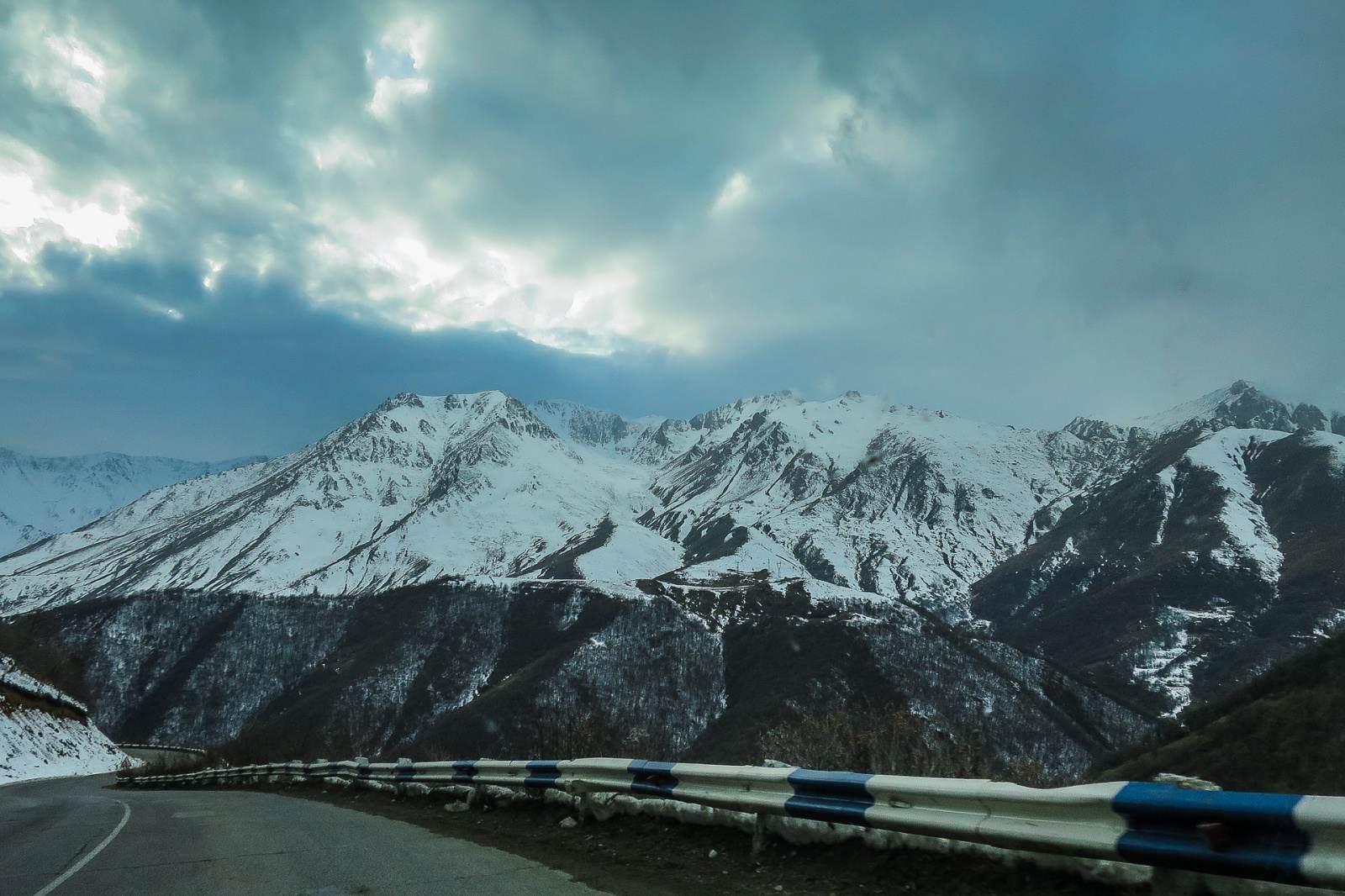 Zima přichází do Arménie