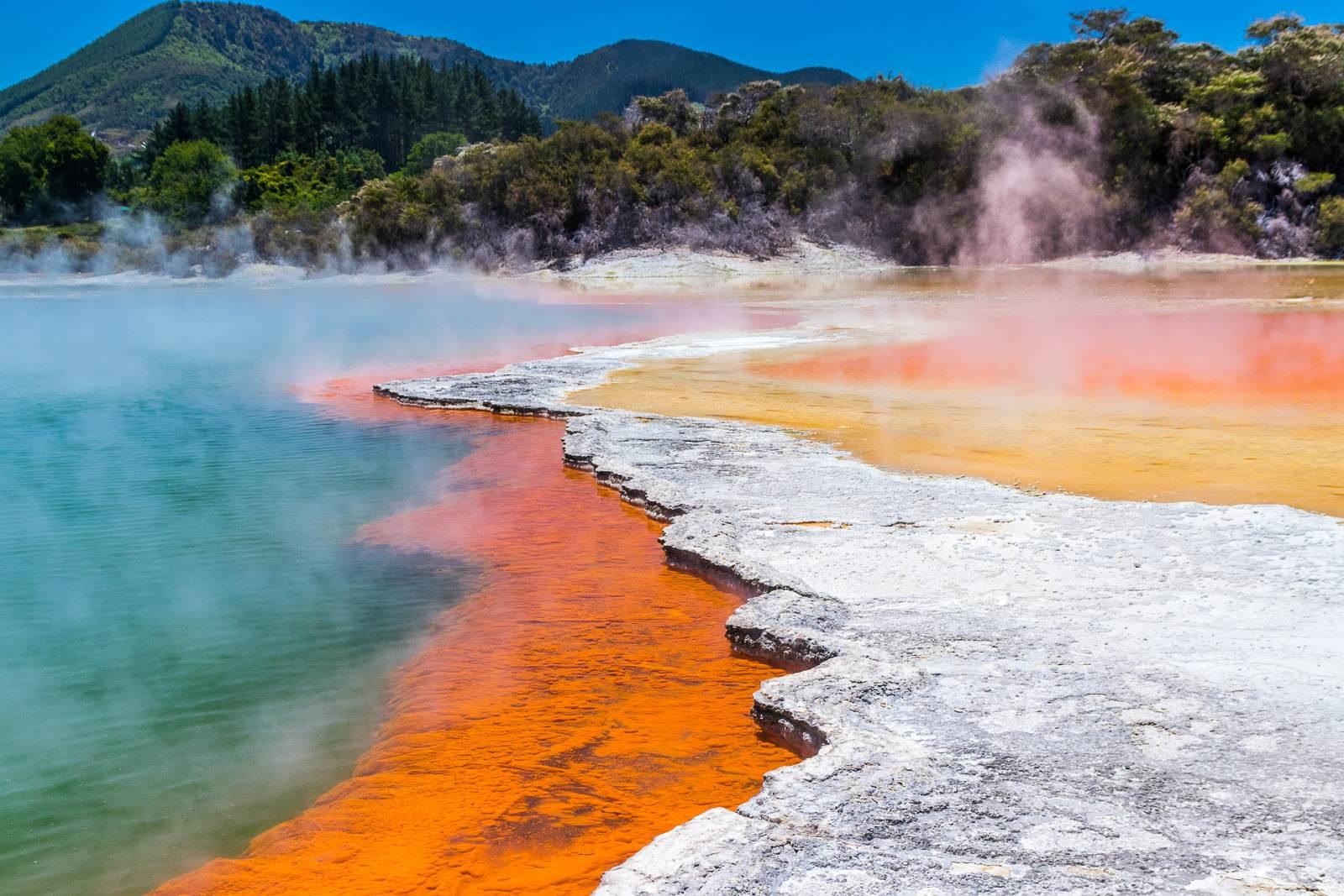 Termální park Waiotapu, Nový Zéland