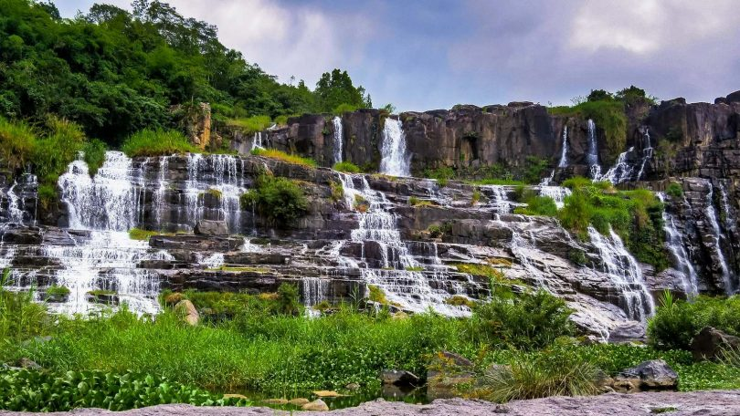 Vietnam 8 - Vodopád Pongour i Mozaikový chrám