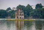 Vietnam 16 - Hanoj a Češi na pivu, voskovaný Ho Chi Minh, vodní divadlo a sekáč v pokoji
