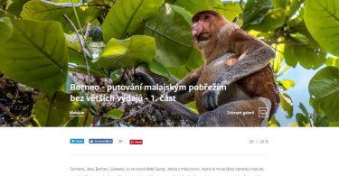 Borneo - putování malajským pobřežím bez větších výdajů - 1. část