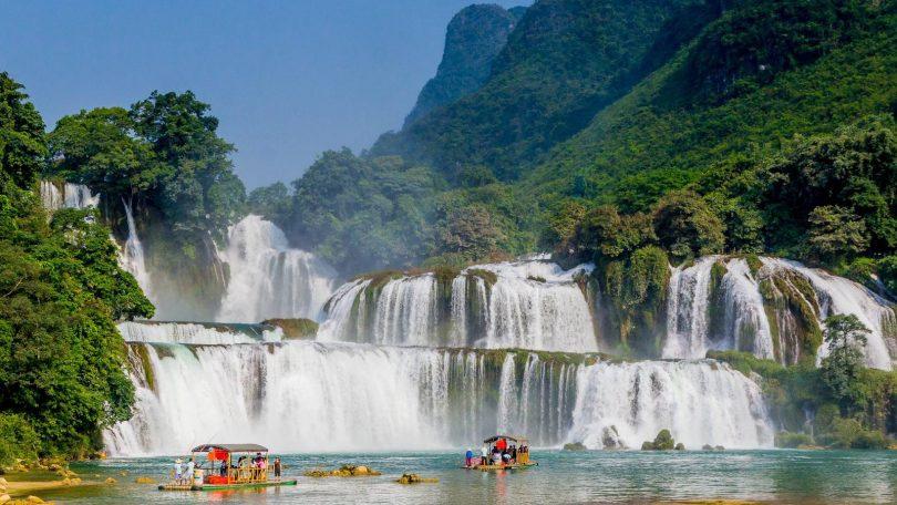Vietnam 20 - Vandr z Cao Bang k čínské hranici a vodopádu Ban Gioc