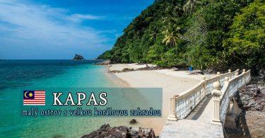 Kapas - malý ostrov s velkou korálovou zahradou