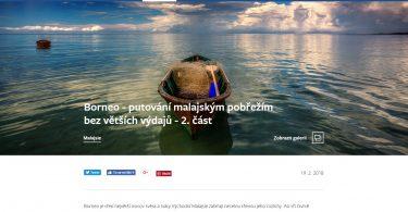 Borneo - putování malajským pobřežím bez větších výdajů - 2. část