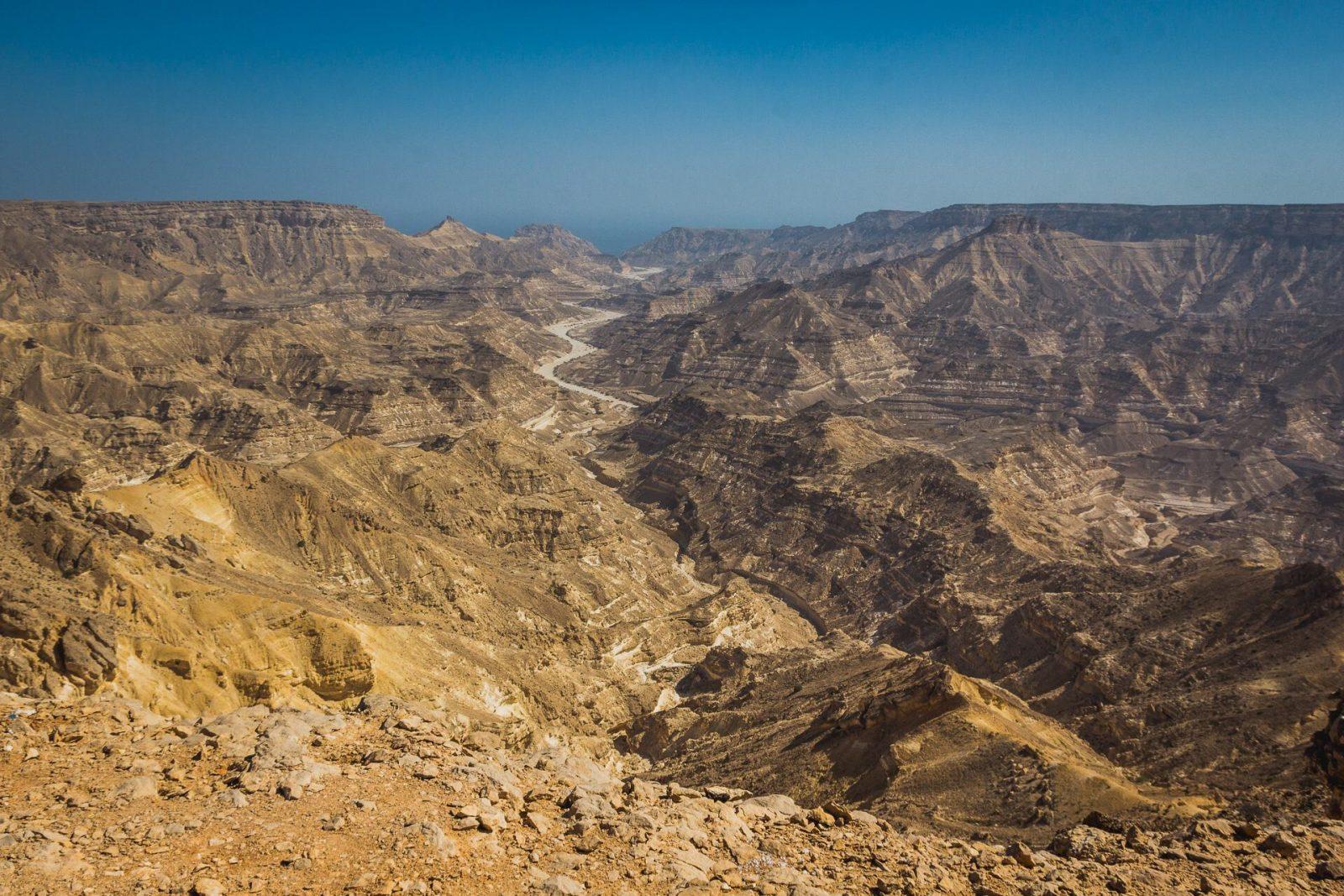 Wádí v Ománu