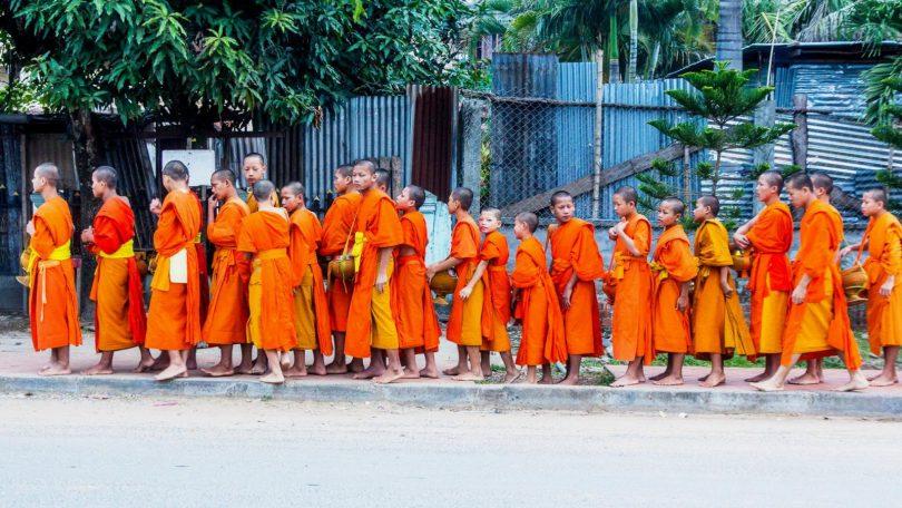 Laos 3 - Luang Prabang a doplnění sil, žaludků i peněženky