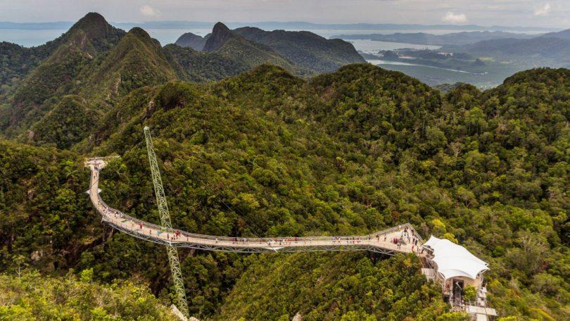 Malajsie 3 - Lanovkou na Gunung Machinchang a koupání u Sedmi studní