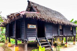 Tradiční malajský venkovský dům