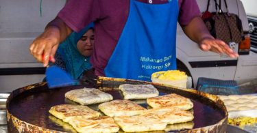 Murtabak, poklad malajské fusion kuchyně