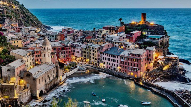 Cinque Terre - jeden den mezi pěti městečky